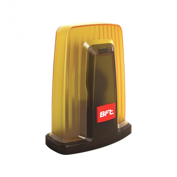 BFT RADIUS LED AC A R1 Flashing Light With Built-In Antenna For 230V Operators - D114093 00002