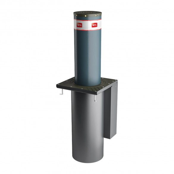 BFT Pillar B 275/800 Automatic Bollard (Stainless Steel) - P970093-1 (Painted Steel Model Shown)