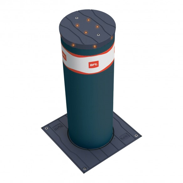 BFT Stoppy MBB 219/500 Automatic Electromechanical Bollard (Stainless Steel) - R950008-1 - Painted Steel Model Shown As Example