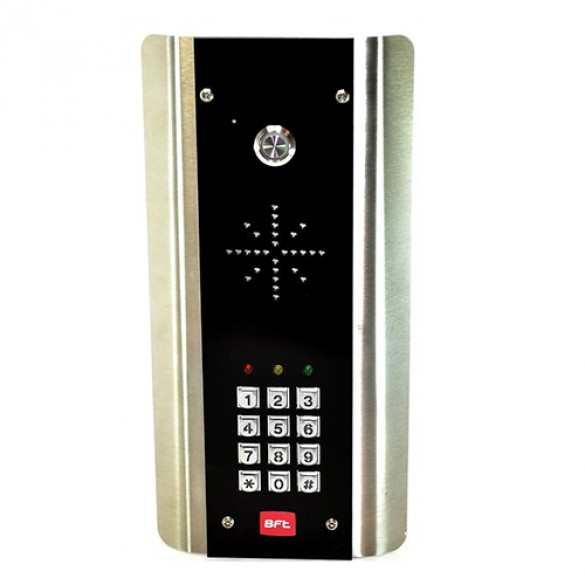 BFT Cellular Access System Horizontal Flushmount w/ Keypad (Stainless Steel Ring) - BFTCELL-PRI4GFH