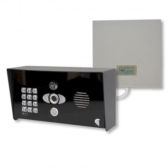BFT Praetorian Guard Intercom Kit With Keypad - Pedestal Mount - PRAE-IP-PED-KP
