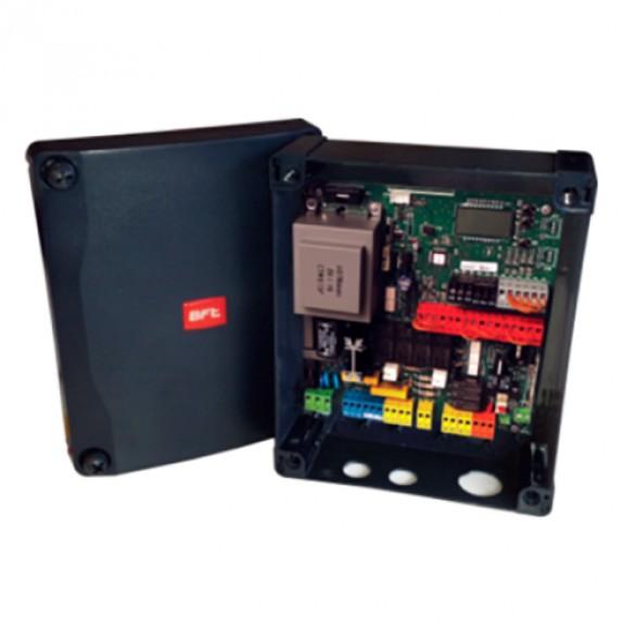 """BFT RIGEL 6, 120V - 16"""" x 18"""" Large Pre-Wired Enclosure, Built In Receiver, 24/7 Timer, Power Outlet, Test Button - KERIG6C002U"""