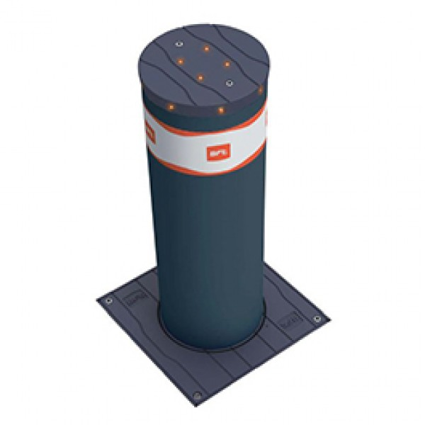 BFT Dampy B 219/500 Semi-Automatic Gas Bollard (Stainless Steel) - P970084-1