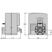 BFT ARES 1000 Fast Slide Gate Operator - P926183 00005 Technical Drawing