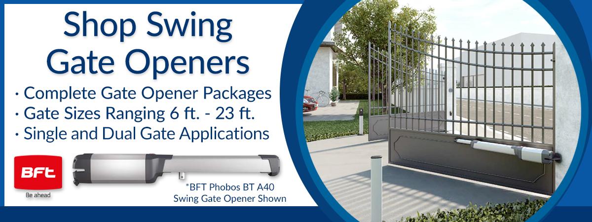 Shop BFT Swing Gate Openers