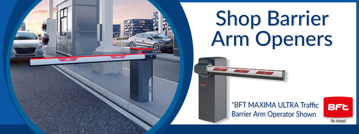 Shop BFT Traffic Control Barrier Arm Openers